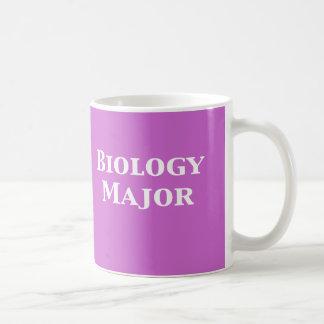 Regalos importantes de la biología taza de café