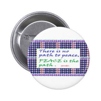 Regalos impresos cita de la sabiduría de la VENTA Pin Redondo 5 Cm