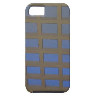 REGALOS inclinados azul elegante del arte gráfico iPhone 5 Cobertura