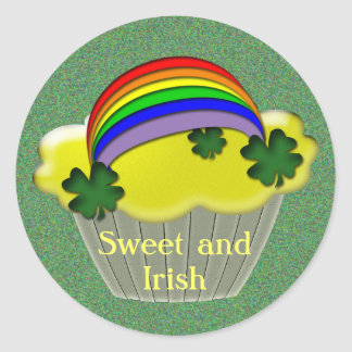 Regalos irlandeses pegatina redonda