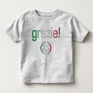 Regalos italianos: Gracias/Grazie + Cara sonriente Remeras