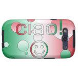 Regalos italianos: Hola/Ciao + Cara sonriente Galaxy S3 Cobertura
