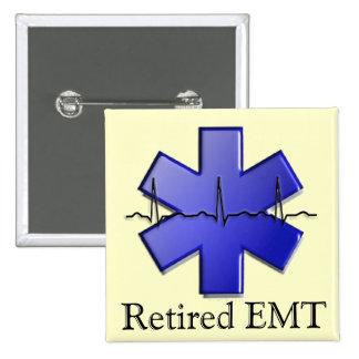 Regalos jubilados de EMT Pin Cuadrada 5 Cm