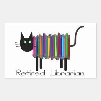 Regalos jubilados del gato del libro del rectangular altavoz