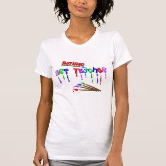 Regalos jubilados del profesor de arte camisetas