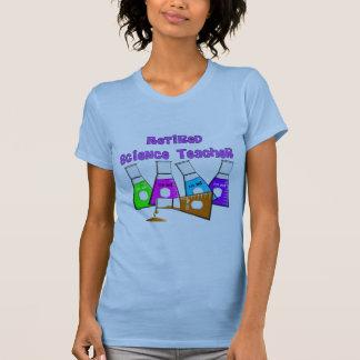 Regalos jubilados del profesor de ciencias camiseta