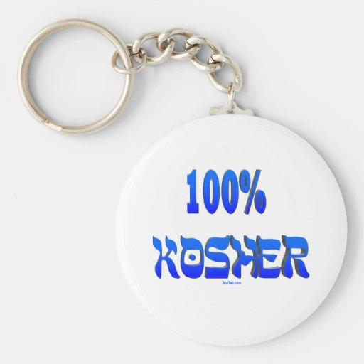 regalos judíos kosher del 100% llaveros personalizados