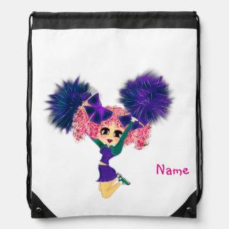 Regalos lindos de la animadora personalizados mochila