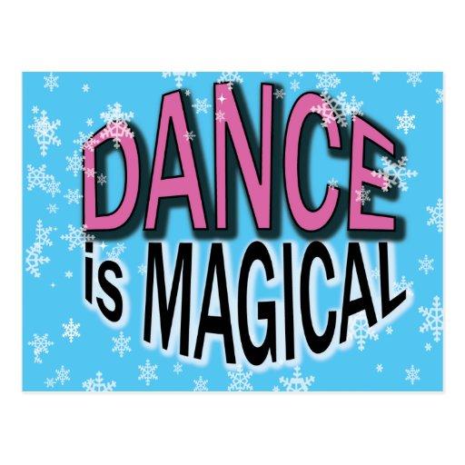 Regalos lindos de la danza para los bailarines postal