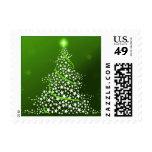 regalos lindos del árbol de navidad de la sello