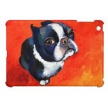 Regalos lindos del perro de perrito de Boston Terr iPad Mini Cobertura