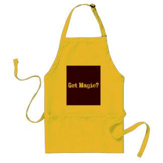 Regalos mágicos conseguidos delantal