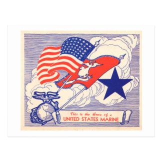 Regalos marinos de la ayuda de la familia tarjetas postales