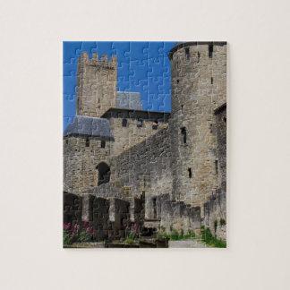 Regalos medievales del destino de los tiempos del  rompecabeza
