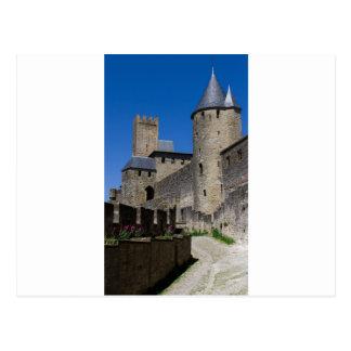Regalos medievales del destino de los tiempos del tarjeta postal