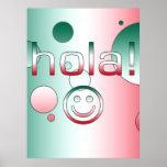 Regalos mexicanos: Hola/Hola + Cara sonriente Impresiones