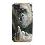 Regalos Mono-peineta Case-Mate iPhone 4 Carcasa