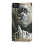 Regalos Mono-peineta iPhone 4 Case-Mate Protector