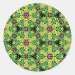Regalos multicolores del modelo pegatina redonda