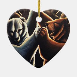 Regalos multiculturales de baile del amor del orna ornaments para arbol de navidad