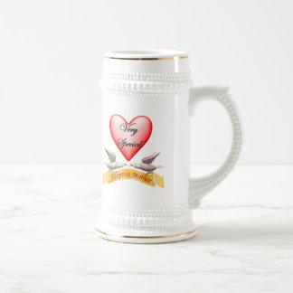Regalos muy especiales del día de madres de la jarra de cerveza