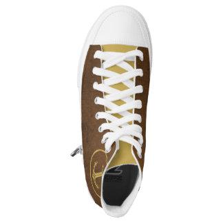 Regalos náuticos de oro del ancla el | zapatillas