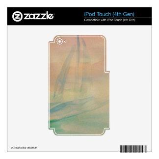 Regalos náuticos del velero de la navegación de la iPod touch 4G skin