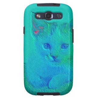Regalos observados azul del gatito galaxy SIII cobertura