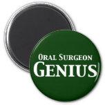 Regalos orales del genio del cirujano imán de frigorifico