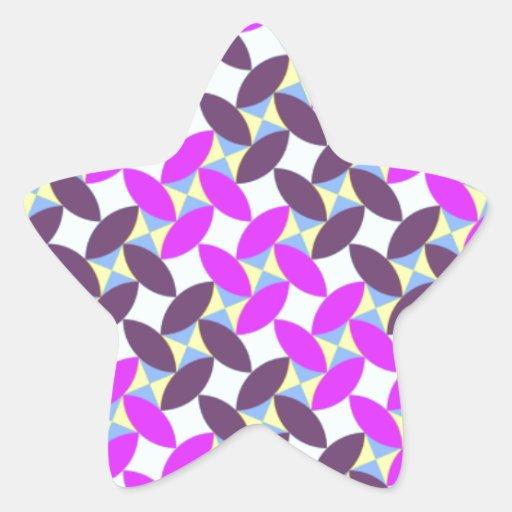 Regalos orientales de moda del diseño del modelo pegatina en forma de estrella