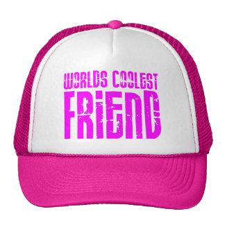 Regalos para el amigo más fresco de los mundos ros gorros bordados