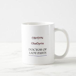 Regalos para el doctor de OB/GYN AKA de señora Taza Clásica