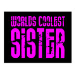 Regalos para la hermana más fresca de los mundos postal