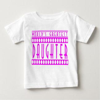 Regalos para las hijas: La hija más grande del Playeras