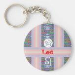 Regalos para LEO - - símbolo de la estrella del na Llavero