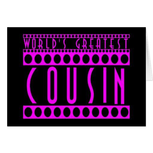 Regalos para los primos: El primo más grande del m Felicitación