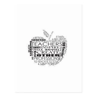 Regalos para los profesores postal
