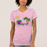 Regalos para los Snowbirds, camisetas de la playa