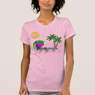 Regalos para los Snowbirds, camisetas de la playa  Playeras