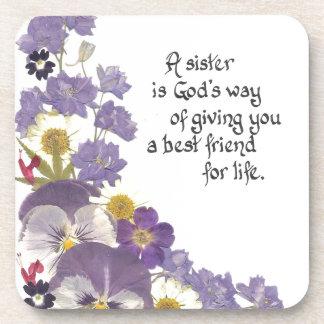 regalos para una hermana posavasos de bebidas
