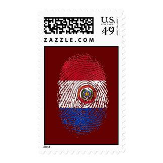 Regalos paraguayos de la bandera el 100% de la sello