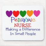 Regalos pediátricos de la enfermera tapete de ratón