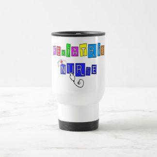 Regalos pediátricos de la enfermera taza de café