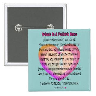 Regalos pediátricos del poema de la enfermera pin