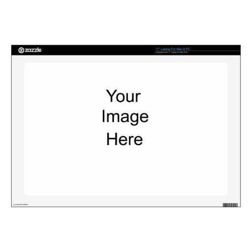Regalos personalizados de encargo portátil 43,2cm skin