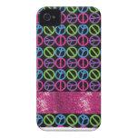 Regalos personalizados de la chispa de los chicas Case-Mate iPhone 4 fundas
