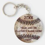 Regalos PERSONALIZADOS del béisbol para los Llavero Redondo Tipo Pin