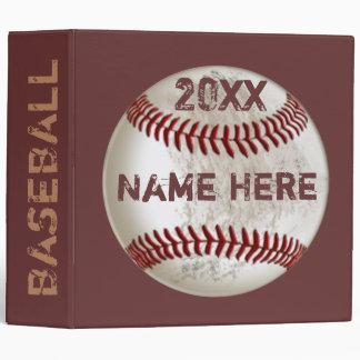 """Regalos personalizados del béisbol para los niños carpeta 2"""""""