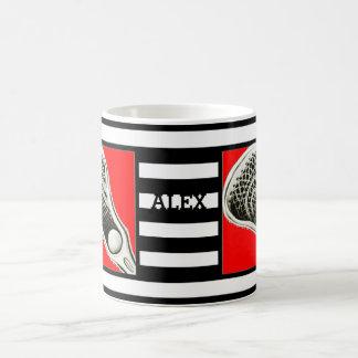 regalos personalizados del lacrosse taza clásica