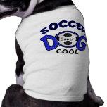 Regalos personalizados del perro, camisa del perro playera sin mangas para perro
